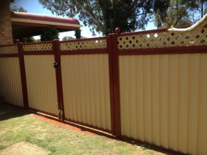Colorbond Steel Privacy Fencing Simply Fencing